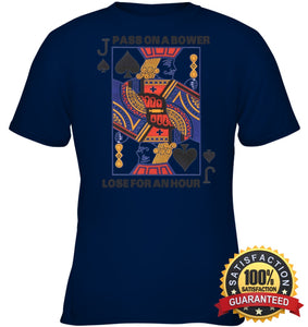 Euchre Shirt Youth Classic Tee / Navy Xs Apparel