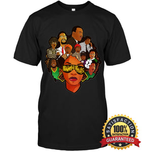 Powerful Roots Black History Month I Love My T-Shirt Unisex Short Sleeve Classic Tee / S Apparel