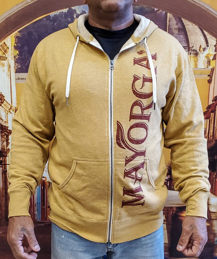 Mayorga Gold Zip-Up Hoodie