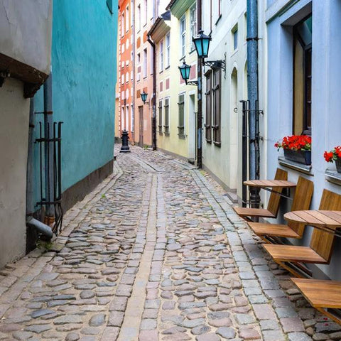 A Typical Scandinavian Street