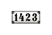 AMALIENBORG HOUSE NUMBER - RAMSIGN.CO.UK