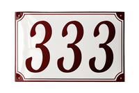 VOSBORG HOUSE NUMBER - RAMSIGN.CO.UK