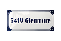 SILKEBORG ADDRESS PLAQUE - RAMSIGN.CO.UK