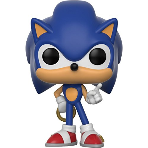0b17269386a Funko Pop! Games  Sonic The Hedgehog - Sonic with Ring Vinyl Figure (Bundled  with Pop BOX PROTECT.