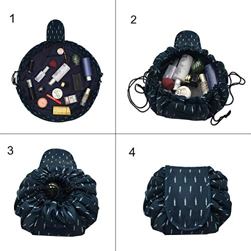 4c8ef71bd201 Other Health & Beauty - Lazy Drawstring Makeup Large Capacity ...