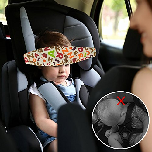 Baby Head Support Band For Car Seat Dadiii 5 Pcs Neck Relief Strap Safety Stroller
