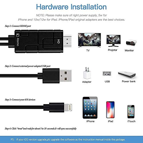 Other Photo & Video - Compatible with iPad iPhone to TV HDMI Adapter