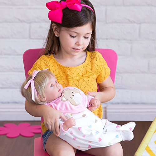 af5d0dd56d90 Dolls - Paradise Galleries Reborn Baby Doll That Looks Real Happy ...