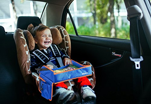 Snack And Play Travel Tray Kids Car Seat Lap Desk For With Sturdy