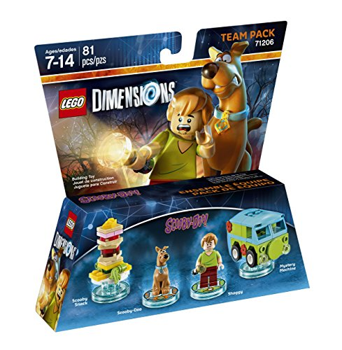 Scooby Doo Dimensions RARE LEGO Minifigure FREE POST Scooby-Doo sitting