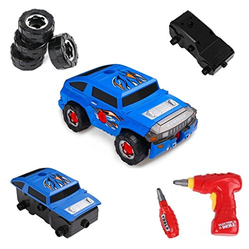 Other Pretend Playing - Virhuck 2 In 1 Take Apart Toy Racing