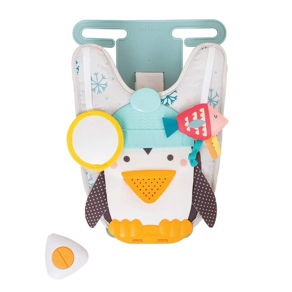 Taf Toys Toe Time Infant Car Toy Kick And Play Musical Travel Activity Center