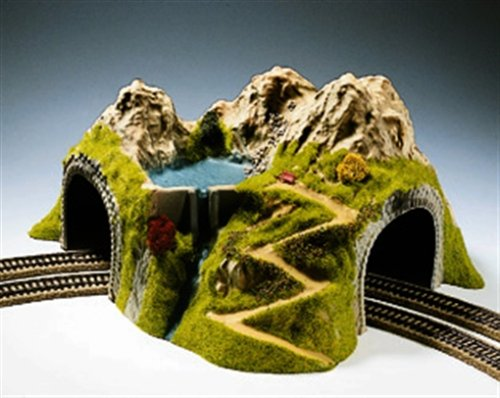 Noch 05180 43 x 41 cm Curved Tunnel Double Track Landscape Modelling