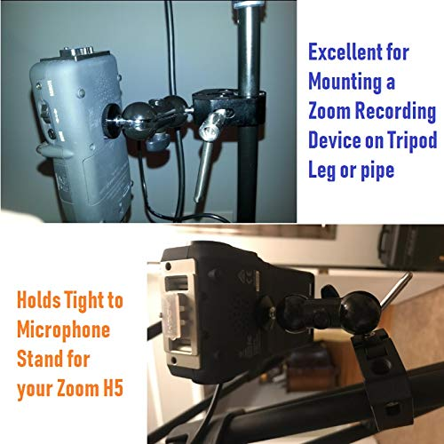 Other Music Related Items - Clamp Mount Stand Ball-Head Arm for Zoom