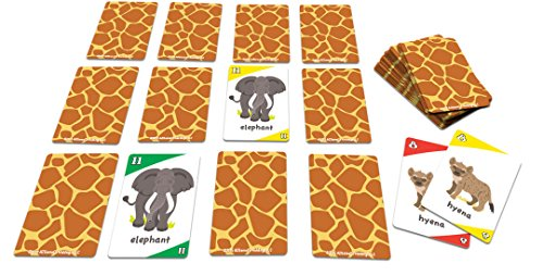 Animal Safari 3In1 Go Fish And Old Maid Card Game Spiele
