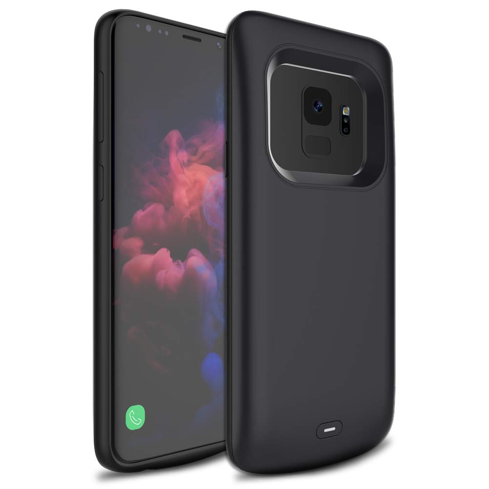 new arrival e536c 4131a TQTHL Galaxy S9 Battery Case, 4700mAh External Battery Charger Case for  Samsung galaxy S9 SM-G960...