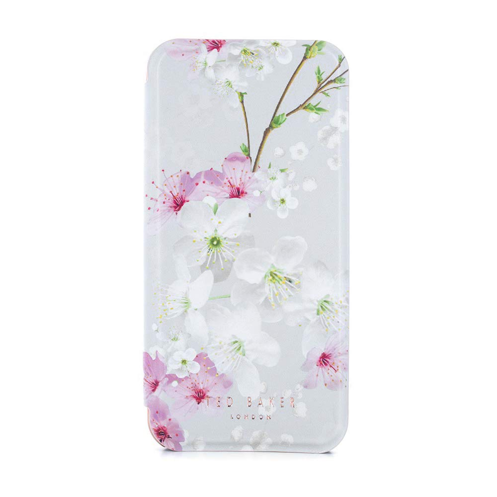 new concept 47123 b53e1 Official Ted Baker SS17 Folio Style Case for Apple iPhone 8 / 7 - Fashion  Branded Mirror Case fo...