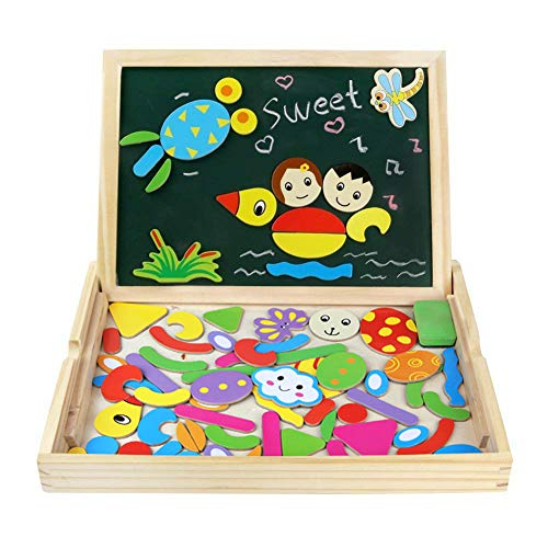 Other Puzzles Fajiabao Wooden Magnetic Drawing Board Art Easel