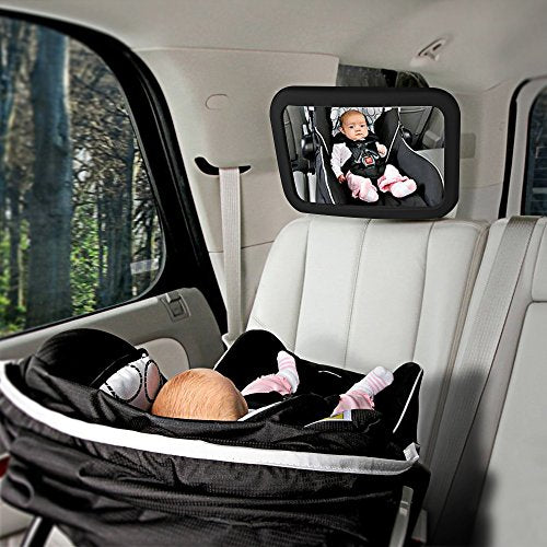 Homitt Baby Car Mirror Back Seat Large Rear Facing Shatterproof For Keeping Y