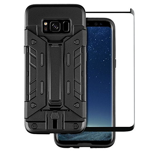 cheap for discount 1dd84 c34c5 Screen Protectors - Olixar Samsung Galaxy S8 Case With Screen ...