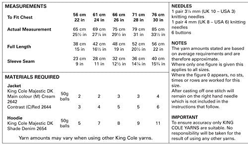 Other Kids' Arts & Crafts - King Cole Boys Double Knitting