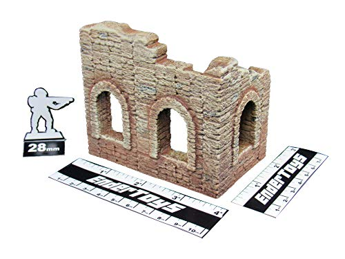 Other Puzzles - EnderToys Battle Ruined Walls, Terrain Scenery for