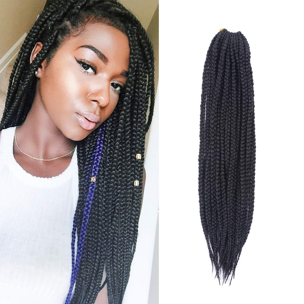 Other Hair Extensions Weaves Crochet Box Braids Hair 7pcslot 14