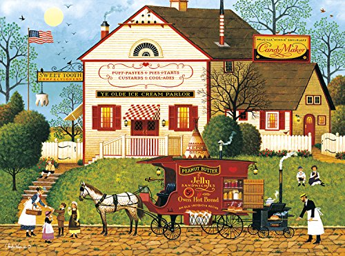 4f7d9a37dfe68 Buffalo Games - Charles Wysocki - Sugar and Spice - 1000 Piece Jigsaw Puzzle