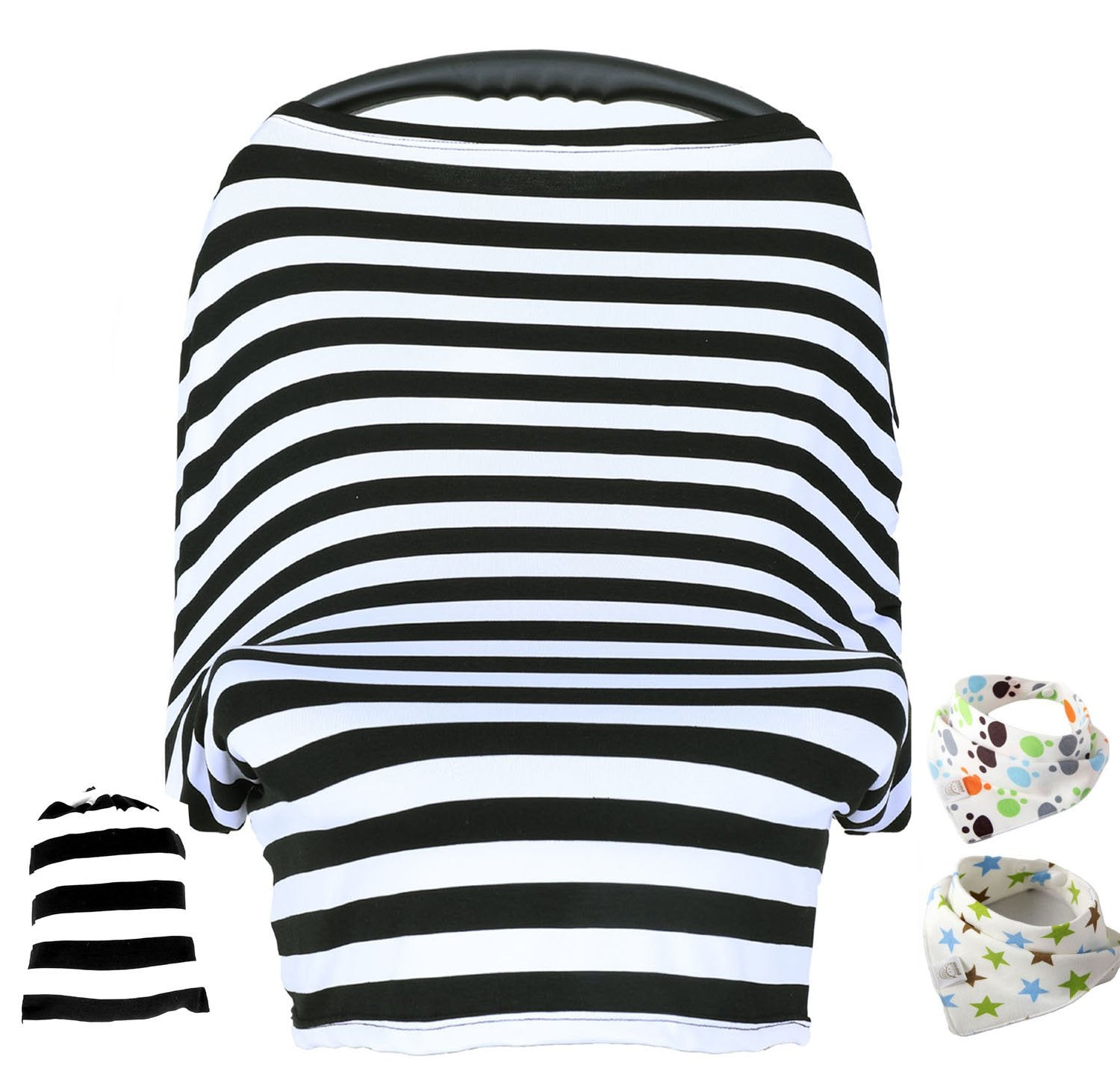 Baby Car Seat Cover Nursing CoverCar Canopy Covers Multi Use Infant