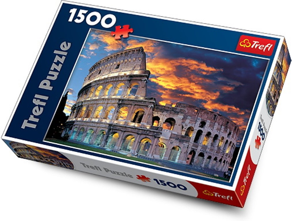 other puzzles trefl the coliseum rome 1500 piece jigsaw. Black Bedroom Furniture Sets. Home Design Ideas