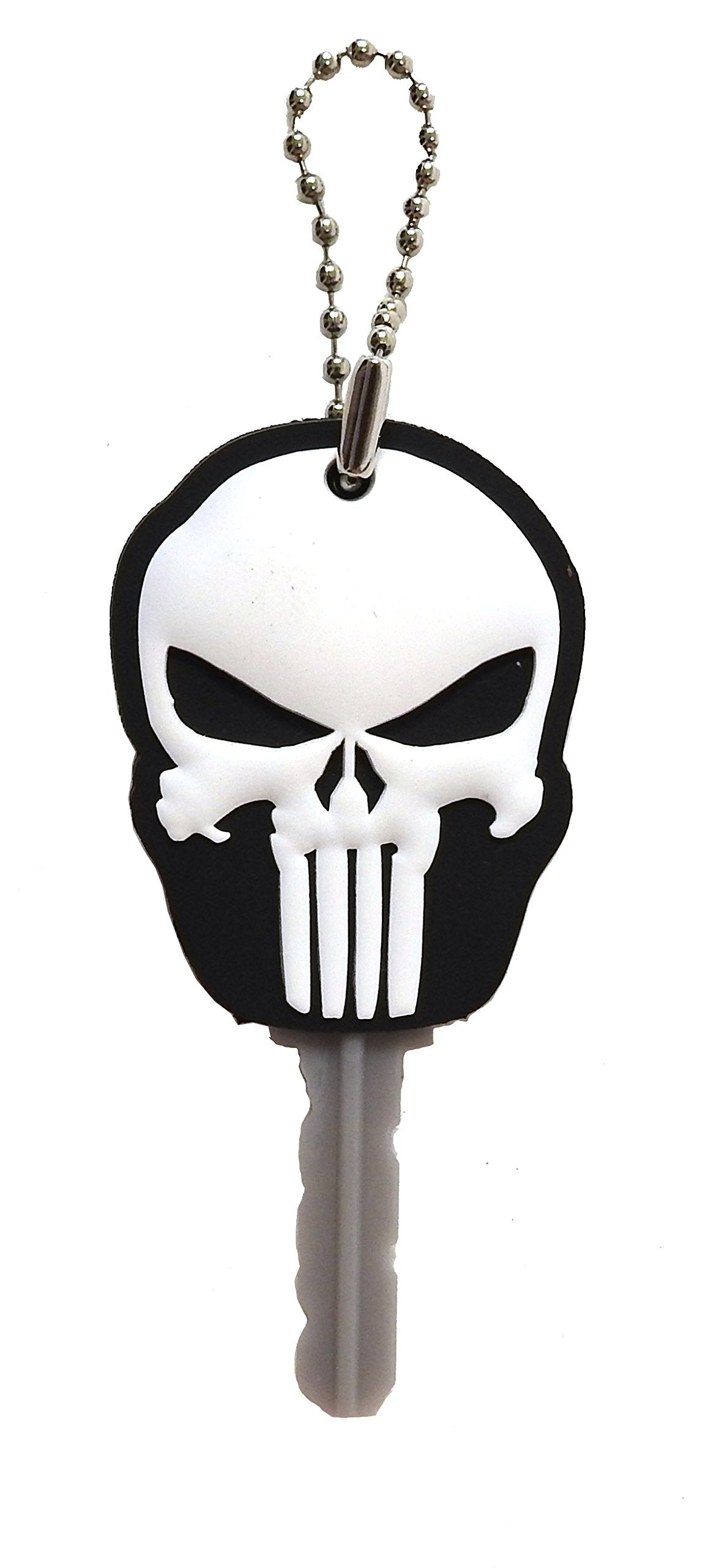 Marvel The Punisher Logo PVC Soft Touch Key Ring Key Accessories
