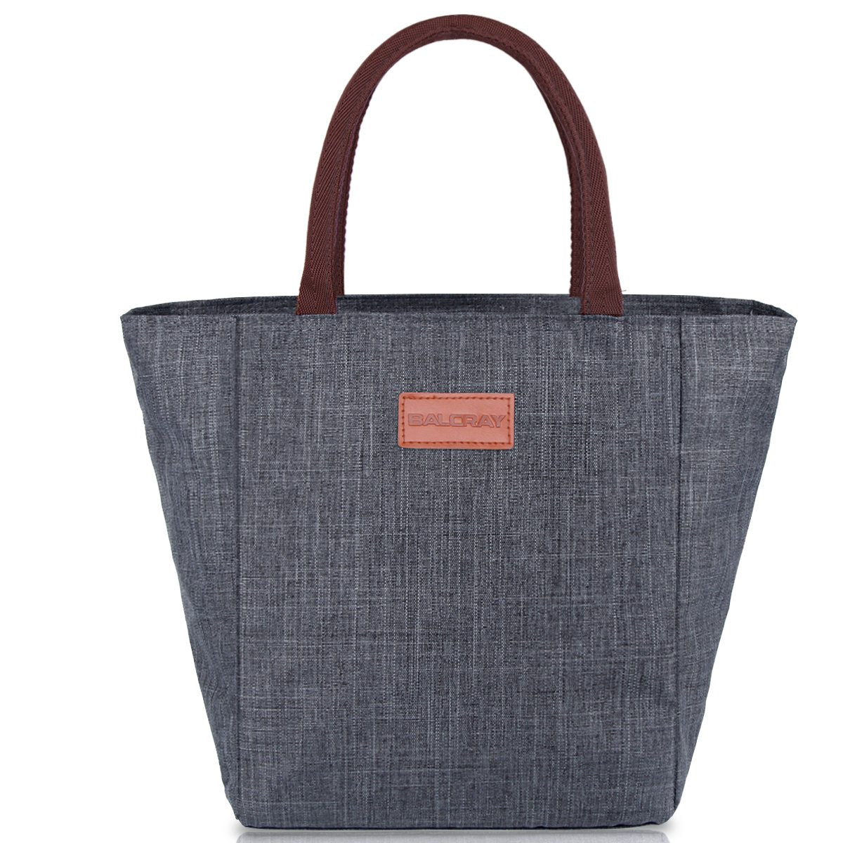 a058950fd039 BALORAY Lunch Bag Tote Bag Lunch Organizer Lunch Holder Lunch Container  (G-199L Grey)