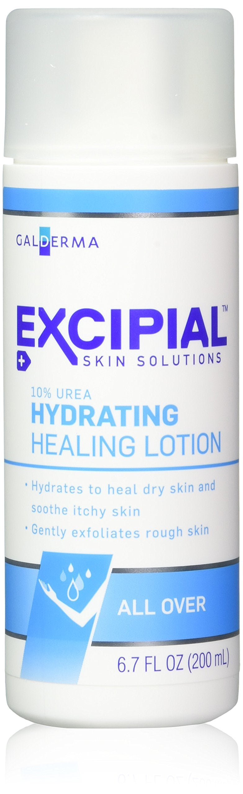 Excipial Urea Hydrating Healing Lotion, 6 7 Ounce, (Pack of 3)