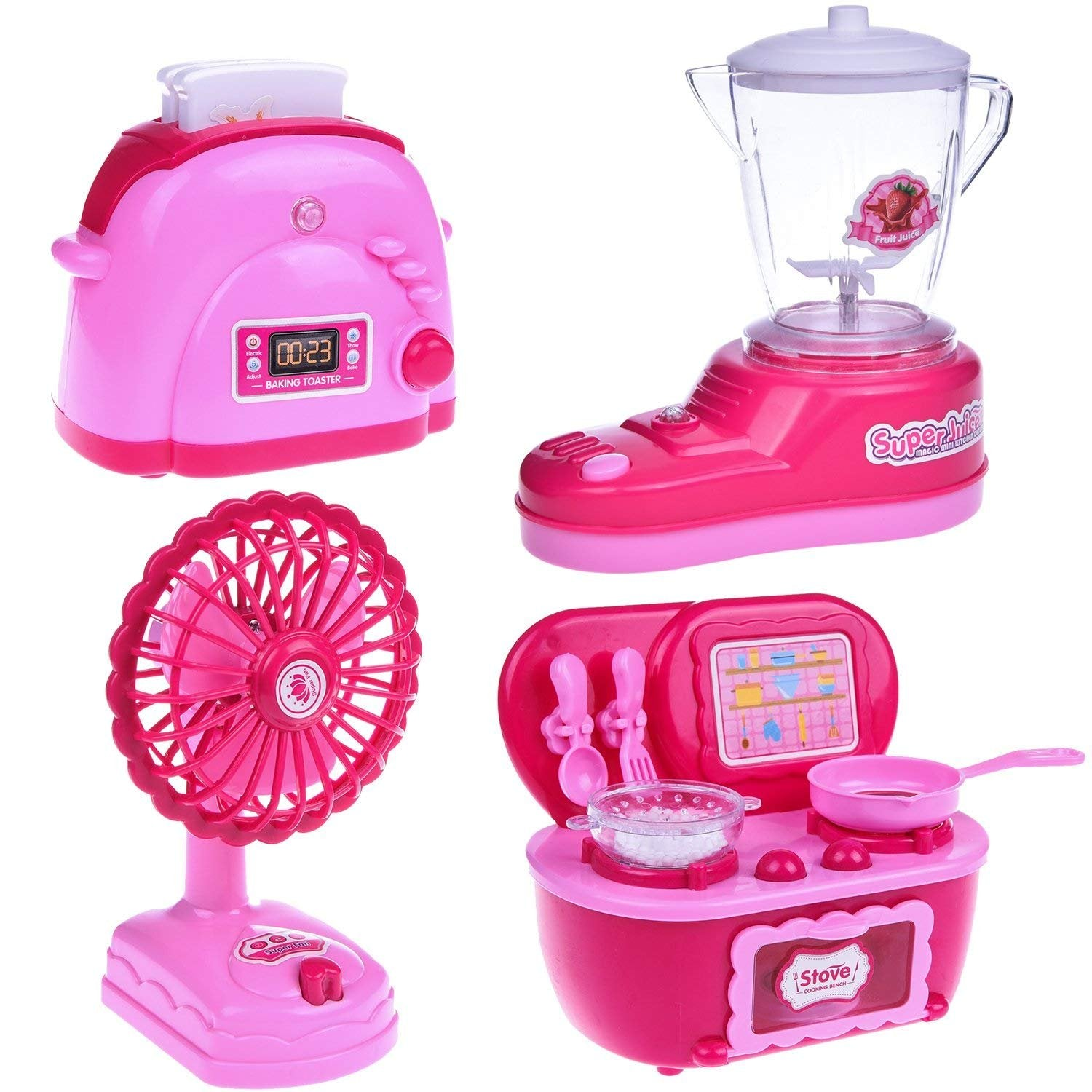Other Pretend Playing Fun Little Toys Kids Kitchen Set For Girls