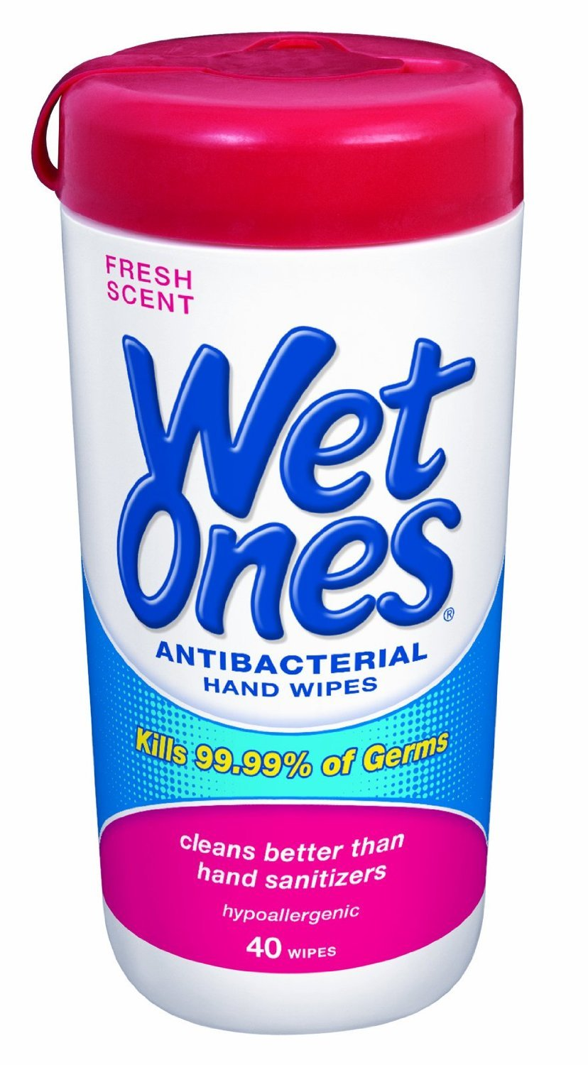 Wet Ones Hand Wipes 28ct Pack Of 12