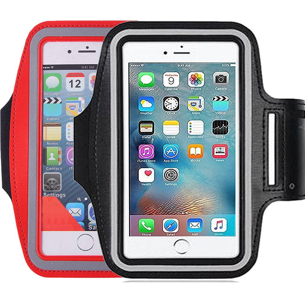 designer fashion d577c e9d15 2Pack Running & Exercise Armband for iPhone 8,8plus 7 plus 6plus,6S,6,5S  5C,Samsung Galaxy s8,s8p...