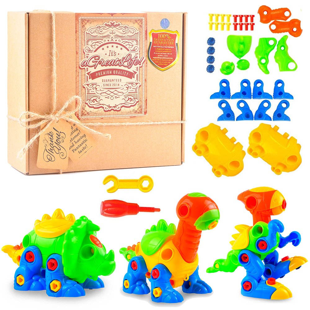 Dinosaur Toys Take Apart Toys With Tools Y