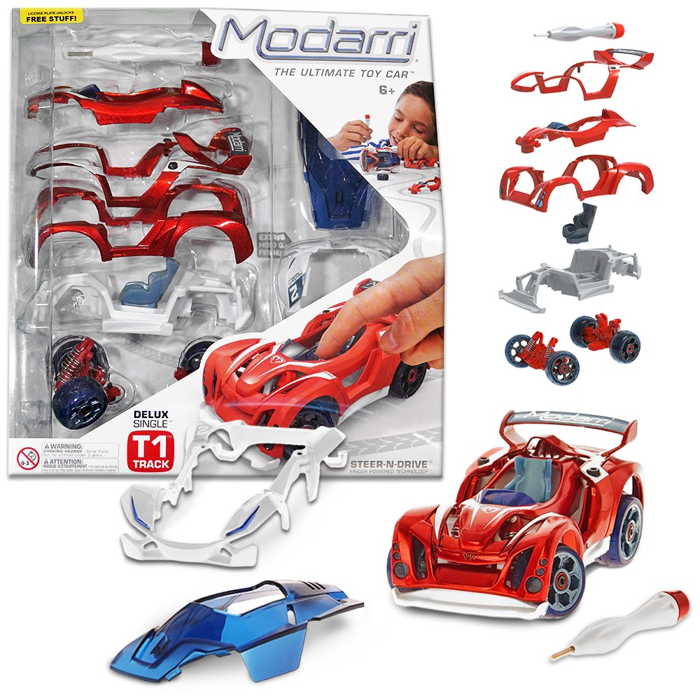 Build Your Own Car Kit >> Other Toys Modarri Delux T1 Track Car Build Your Car Kit Toy Set