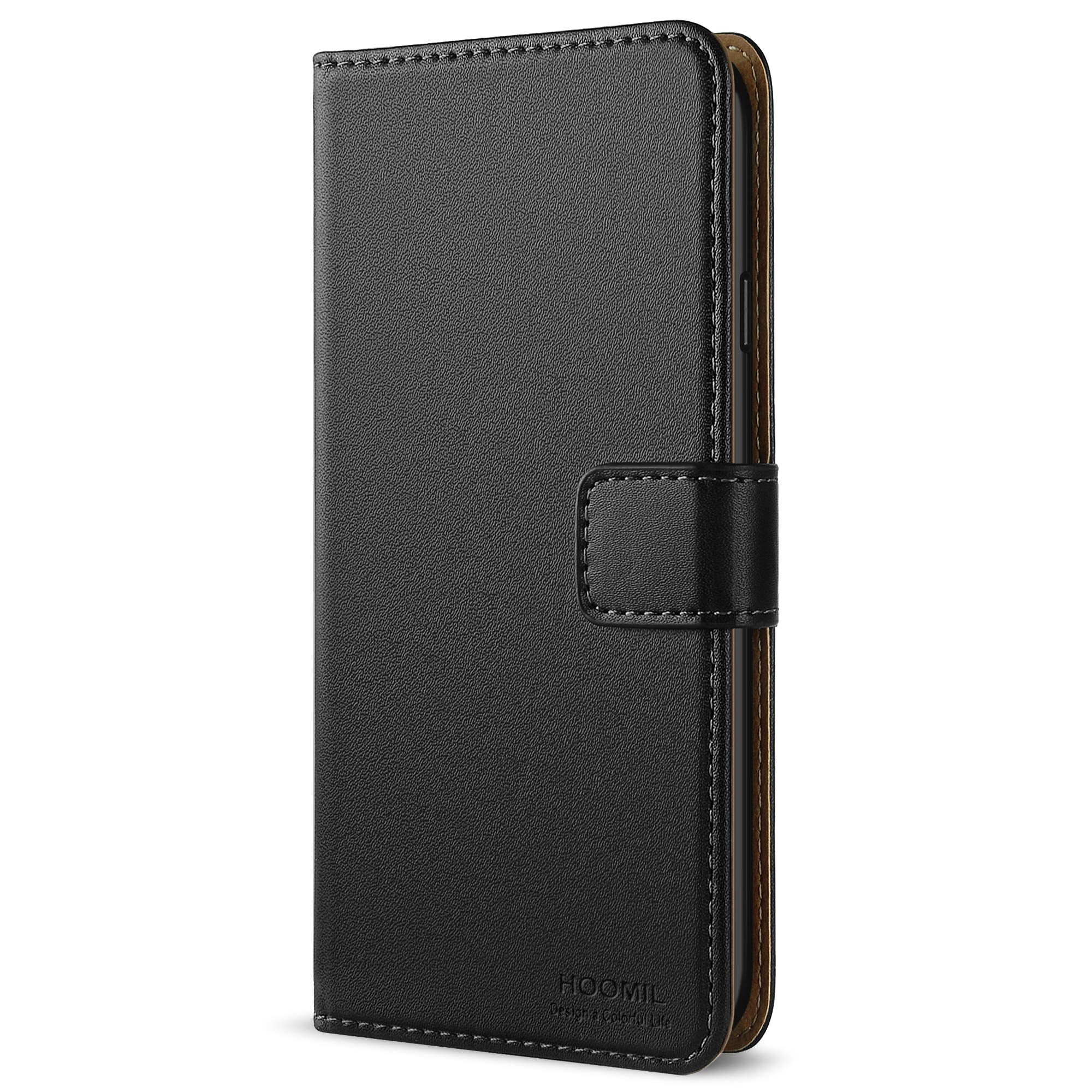 reputable site 66243 142d6 HOOMIL iPhone 6 Case Premium Leather Case for Apple iPhone 6/6S Phone Cover  (Black)
