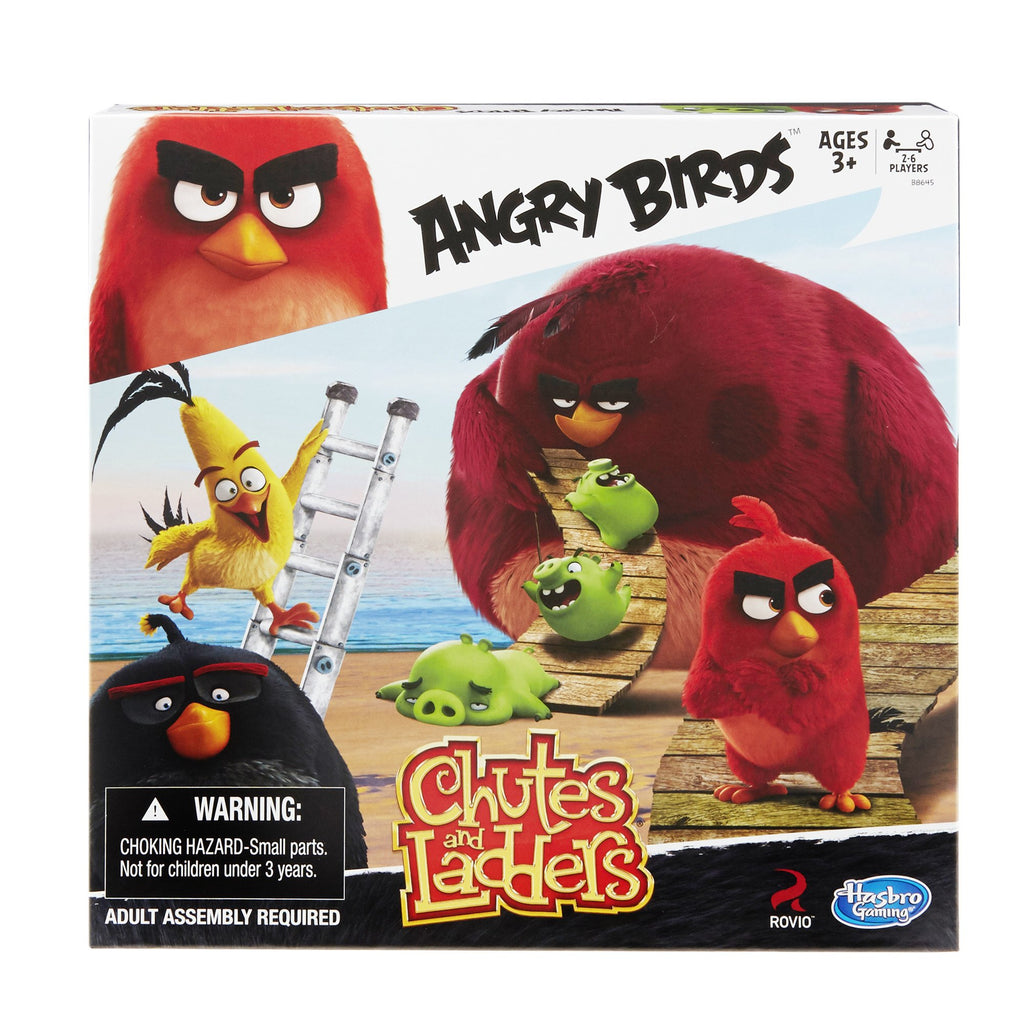Hasbro Chutes And Ladders Angry Birds Edition Game