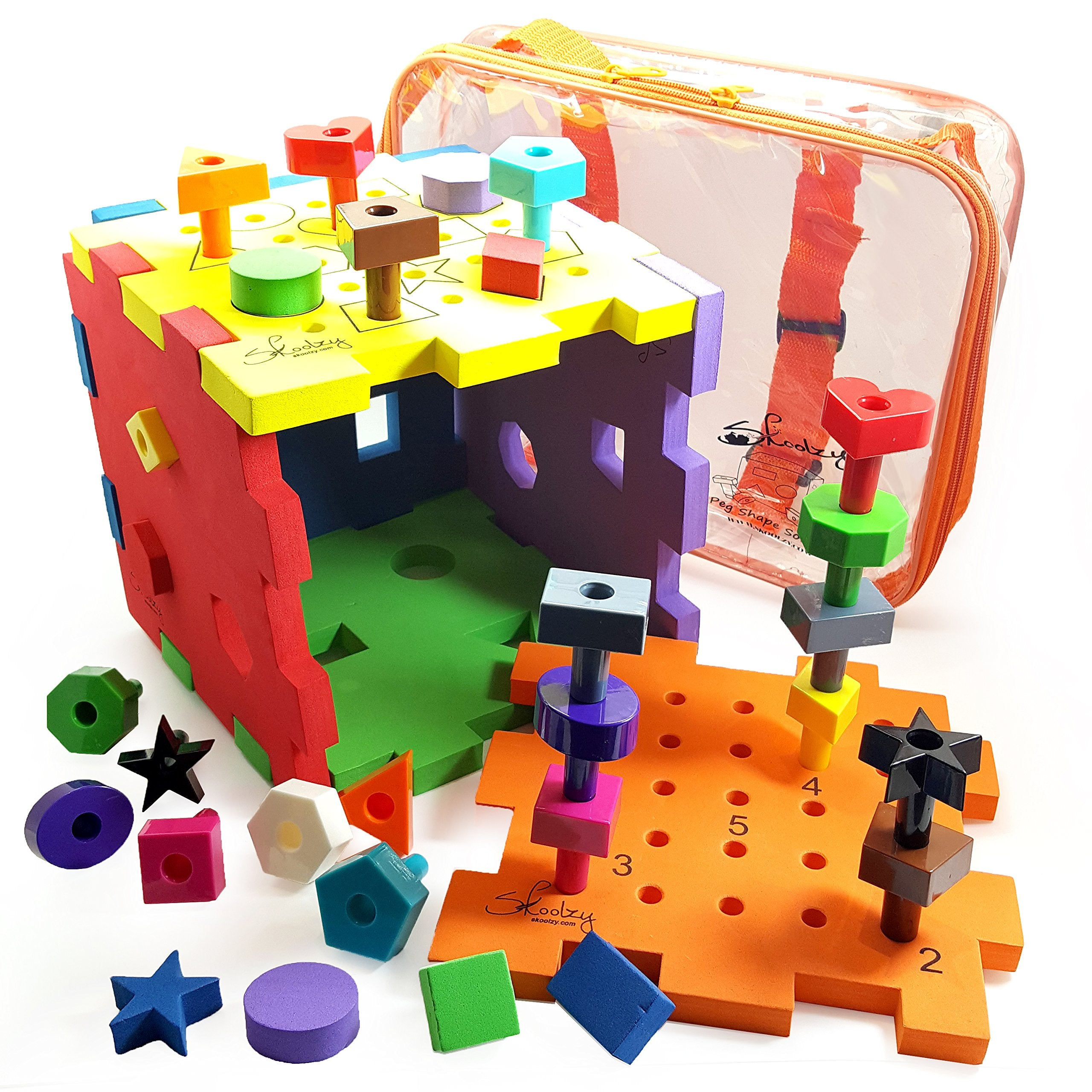 Other Educational Toys - Skoolzy Shape Sorter Montessori ...