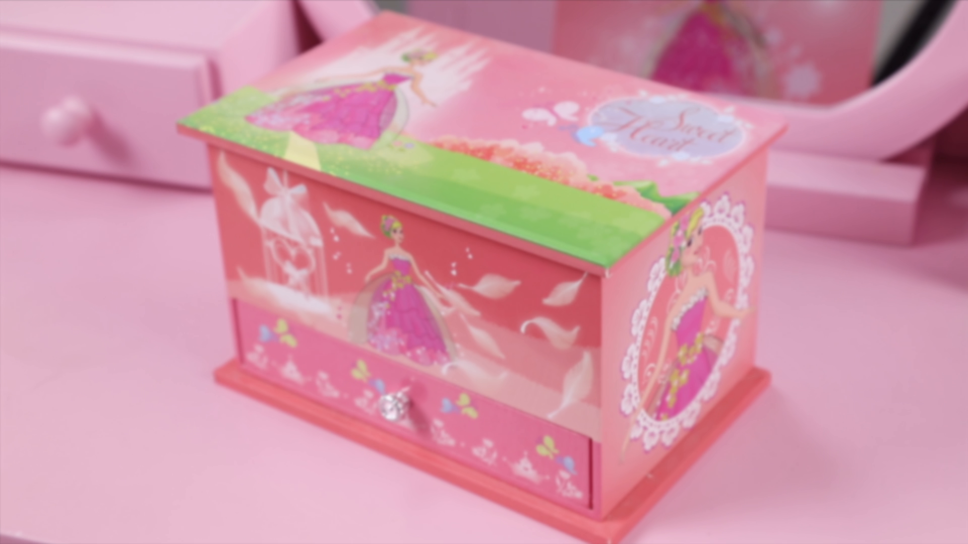 7eb9ef5c10c Other Pretend Playing - SONGMICS Musical Jewelry Box Ballerina Jewel ...