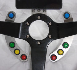 11.5mm Momentary ON Push Button - Modular Steering Components - UPACLICK