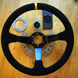 Dash/Phone/LapTimer/DataLogger Mount & Steering Wheel Side Button KIT TrackDay iPhone - UPACLICK