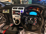 Custom Steering Wheel 8 Button Panel - UPACLICK