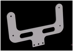 AIM Technologies MXG Dash Mount - Modular Steering Assembly - UPACLICK