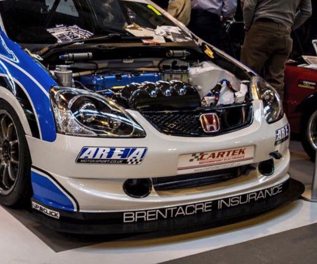 Honda Civic Type R COMPLETE Spitter and Air Dam Kit Civic Cup Spec EP3
