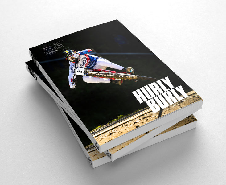 Mountain biker present for Christmas: World Cup yearbook £15