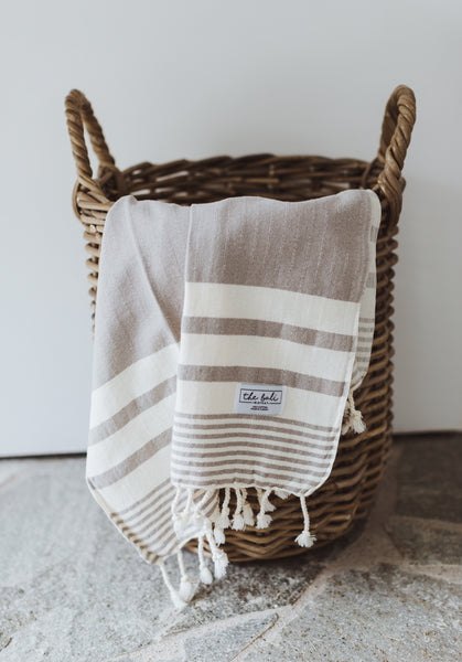 Thick turkish towel