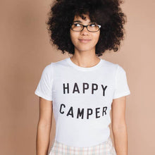 Happy Camper | Fitted Crewneck